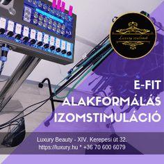 E-FIT alakformálás, izomstimuláció - luxury. Luxury Beauty, Budapest, Fitness, Shopping