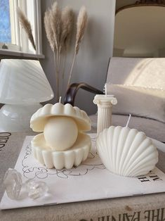 Shell Candles, Cute Candles, Unique Candles, Luxury Candles, Best Candles, Soy Wax Candles, Candle Wax, Handmade Candles, Scented Candles
