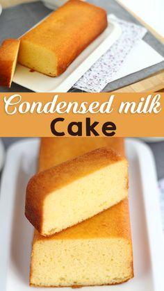 Homemade Cake Recipes, Fun Baking Recipes, Sweet Recipes, Snack Recipes, Mexican Dessert Recipes, Cooking Recipes, Condensed Milk Cake, Condensed Milk Recipes, Yummy Food