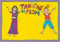 Diplom taneční