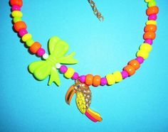 Limey Love Necklace by TheToteTrove on Etsy