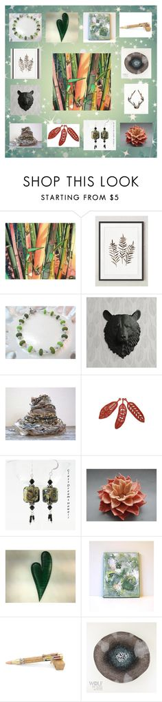 """""""Lovely Gift Collage #11"""" by keepsakedesignbycmm ❤ liked on Polyvore featuring etsy, art, accessories and smallshops"""