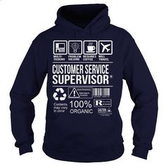 Awesome Tee For Customer Service Supervisor #shirt #Tshirt. CHECK PRICE => https://www.sunfrog.com/LifeStyle/Awesome-Tee-For-Customer-Service-Supervisor-Navy-Blue-Hoodie.html?60505