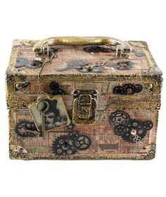 Project: Steampunk Box · Stamping | CraftGossip.com