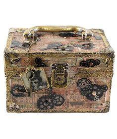 Project: Steampunk Box · Stamping | CraftGossip.com