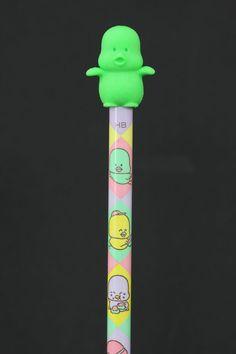 Green Eraser Piyo Baby Pencil