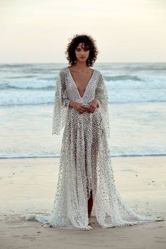 Women's Chosen By One Day Toby Custom Embellished High/low Gown, Size - Metallic Big Wedding Dresses, Wedding Dress Trends, Wedding Suits, Gold Wedding, Wedding Summer, Wedding Ideas, Trendy Wedding, Wedding Beach, Wedding Styles