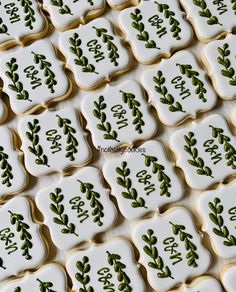 Cookie Wedding Favors, Wedding Sweets, Cookie Favors, Iced Cookies, Sugar Cookies, Engagement Party Cookies, Wedding Shower Cookies, Bridal Shower, Sugar Cookie Royal Icing