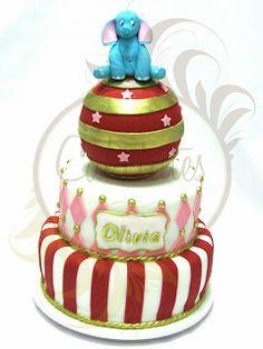 Caketutes Cake Designer - Circus Cake - Bolo circo