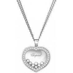 Chopard Happy Diamonds Pendentif Or Blanc 18k ...