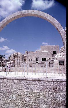 Jerusalem's Hurva synagogue, Old City... #israel #archaeology