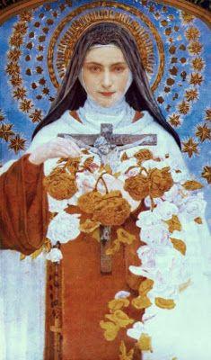 Edgar Maxence portrait, St. Therese de Lisieux