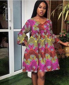 African Fashion Ankara, African Inspired Fashion, Latest African Fashion Dresses, African Print Fashion, Africa Fashion, Short African Dresses, African Print Dresses, African Party Dresses, African Print Dress Designs