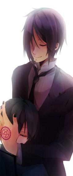 Ciel x Sebastian (Kuroshitsuji)
