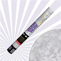 Confetti Cannon - White Slip Confetti (XL)