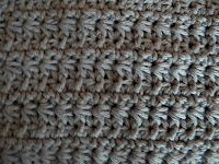 Tunisian Crochet - Daisy Crochet Stitch