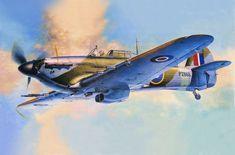 Hawker Hurricane Mk IIc 'The Last of the Many' by Shigeo Koike (the last of 14,533 Hurricanes produced, July 1944)
