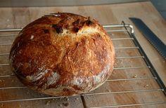 No knead bread Pureed Food Recipes, Bread Recipes, Baking Recipes, Pan Relleno, No Knead Bread, Bread Cake, Easy Bread, Sandwiches, Beignets
