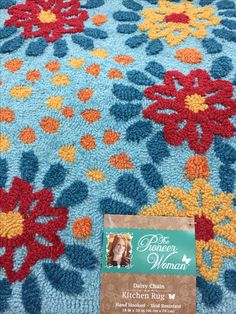 Pioneer Woman rug @ Walmart More - Top-Trends The Pioneer Woman, Pioneer Woman Dishes, Pioneer Woman Kitchen, Pioneer Woman Recipes, Pioneer Women, Walmart Kitchen Rugs, Walmart Home, Only At Walmart, Red And Teal