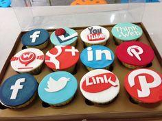 social media cupcakes - Google Search