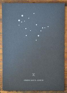 tattoo idea // PORTLAND APOTHECARY: Summer Constellations Gemini