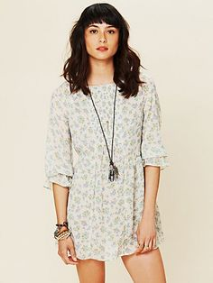 Printed Molly Tunic  http://www.freepeople.com/whats-new/printed-molly-tunic-25323718/