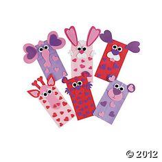 Luv Bug Valentine Card Holder Paper Bag Craft Kit  Paper bag