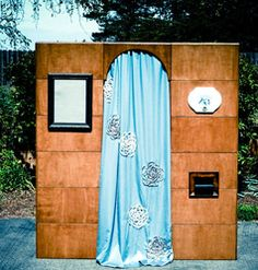 Bluebird Photobooth available in CA and MN - Vintage feel photo booth for any event! Photo Booth Design, Diy Photo Booth, Photo Booths, Photo Shoot, Creative Architecture, Blue Wedding, Wedding Bells, Backdrops For Parties, Vintage Love
