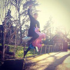 My unicorn and I.