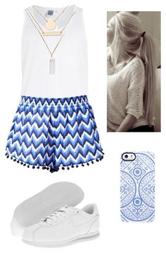 """""""Lets go to the beach"""" by genova-was-here ❤ liked on Polyvore featuring Uncommon, NIKE and Jules Smith"""