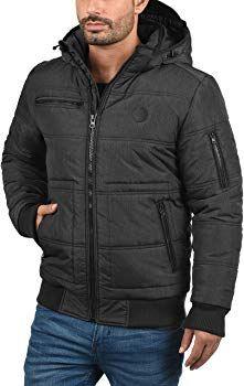 BLEND Boris Herren Winterjacke Jacke mit Stehkragen und