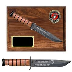 US Marine Corps KA-BAR Commemorative Knife