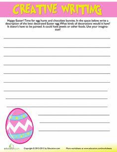 easter creative writing 6 easter creative writing worksheets creative writing second. Black Bedroom Furniture Sets. Home Design Ideas