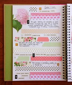 Smash book page by Tessa Buys of Precocious Paper