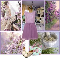 """""""Lilac Love"""" by ryles2 ❤ liked on Polyvore"""