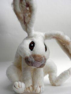 Handmade Needle felted Bunny....!