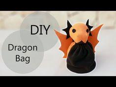 (20) DIY Dragon Bag | Dungeons & Dragons Dice Bag - YouTube