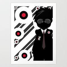 Mod Illustration Art Print by markmurphycreative - $18.72