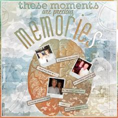 MEMORIES: Precious memories of my dad and me.  I made this page with Memories, a…