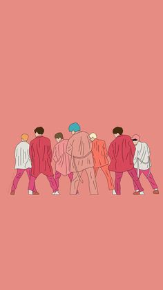 Cute Cartoon Wallpapers, Cool Backgrounds Wallpapers, Foto Rap Monster Bts, Bts Group Picture, Bts Aesthetic Wallpaper For Phone, Halloween Wallpaper Iphone, Iphone Wallpaper, Bts Wallpaper Lyrics, Kpop Drawings