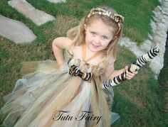Tutu Fairy: Tutu Cute Tiger Halloween Costume