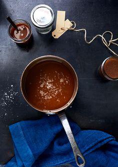Get the recipe for Vanilla Sea Salt Caramel Sauce. Best Food Gifts, Homemade Food Gifts, Sea Salt Caramel, Salted Caramel Sauce, Salted Caramels, Vanilla Recipes, Caramel Recipes, Ice Cream Toppings, Dessert Sauces