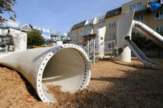 Recycled Wind Turbine Playground… Boss.