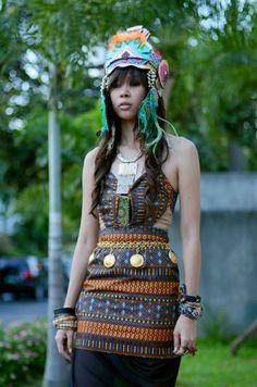aztec goddess costume reference