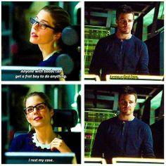 Arrow - Felicity & Oliver #2.17 #Season2 #Olicity