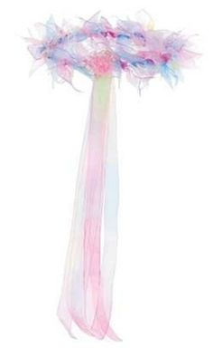 Creative Education Creative Education's Rainbow Halo Costume Rainbow ribbons tied around a halo Award winning Great Pretenders line of kids costumes High quality costumes Manufactured using only the best materials and workmanship Karneval Diy, Rainbow Fairies, Fairy Crown, Kids Dress Up, Play Dress, Fairy Wands, Fairy Crafts, Fairy Birthday Party, Fairy Dress
