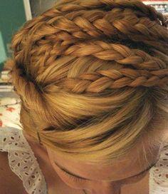 milkmaid or dutch braids