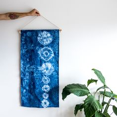 From IAMTHELAB.com Handmade Profiles: Handmade Shibori Textiles from Leonard and Co.