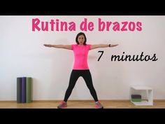 Rutina EXPRESS Tonificación de brazos - YouTube At Home Workout Plan, At Home Workouts, Beautiful Yoga Poses, Zumba, Physical Fitness, How To Relieve Stress, Pilates, Health Fitness, Arm Workouts