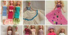Ohje Barbin kotelomekon ompeluun ja ideoita Barbin vaatteisiin. Sewing Barbie Clothes, Lily Pulitzer, Dresses, Fashion, Vestidos, Moda, Fashion Styles, Dress, Fashion Illustrations